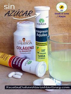 Magnesio y dieta Dukan: magnesio para adelgazar Healthy Foods To Eat, Healthy Eating, Healthy Recipes, Dukan Diet Recipes, Lose Weight, Weight Loss, Alkaline Foods, Drink Bottles, Remedies