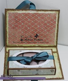 Tutorial: tea-light candle/gift box card