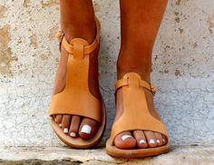 CASSANDRA sandals/ women Greek leather sandals/ roman sandals/ ancient Greek sandal/ womens leather sandals/ natural color leather sandals - --- To check out our e. Low Heel Sandals, Low Heel Shoes, Strappy Heels, Low Heels, Women's Shoes, Me Too Shoes, Flat Sandals, Flat Shoes, Shoes Sneakers
