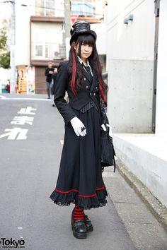 Ruru, 20 years old, college student   13 April 2014   #Fashion #Harajuku (原宿) #Shibuya (渋谷) #Tokyo (東京) #Japan (日本)