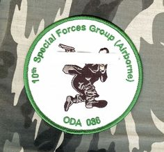 USA Special Forces Operational Detachment A-086 Company B, 3 Battalion, 10 SFGp