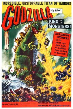 Godzilla, King Of The Monsters  1956