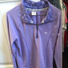 Victoria Secret PINK pullover!!! athletic style pullover! very comfortable and looks perfect- no wear and tear that I have seen PINK Victoria's Secret Tops