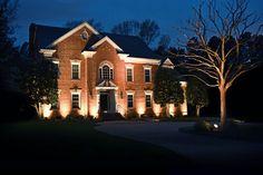 7 facade lighting of house ideas
