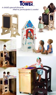 lily loves helping out in the kitchen... the learning tower - a nifty, safe idea to help!