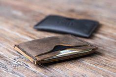 Wallet The Inside Out Men's Leather Wallet Minimalist by JooJoobs