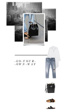 """""""- 0 0 5 -"""" by hey-anna ❤ liked on Polyvore featuring Birkenstock and Acne Studios"""