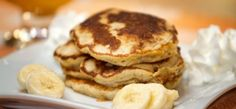 Pancake without flour Sin Gluten, Gluten Free, Deli Food, Crepes, Paleo, Food And Drink, Low Carb, Nutrition, Sweets