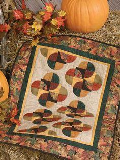 Free Quilt Pattern: Fall Flourish - I Sew Free