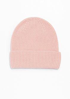 Pink Cashmere Beanie