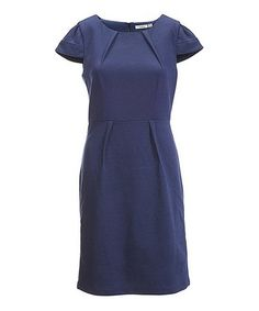 Look what I found on #zulily! French Navy Siobhan Dress #zulilyfinds