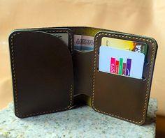 Leather wallet от Demyanoff на Etsy