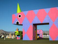 coachella's oversized art installations amaze and amuse fun-loving festival-goers
