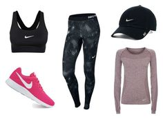 """Nike training outfit"" by karppila-julia on Polyvore featuring NIKE"