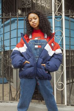 We're SO not over overalls. The new Tommy Jeans, as seen in Brooklyn, NY by @hypebeast.