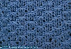 Ant Egg - Knittingfool Stitch Detail
