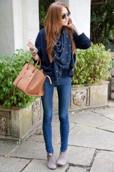 gray booties outfit - Google Search
