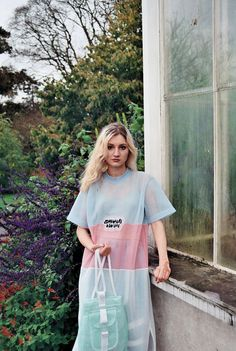 Editorial - Somewhere x Nowhere's Pastel Clothes