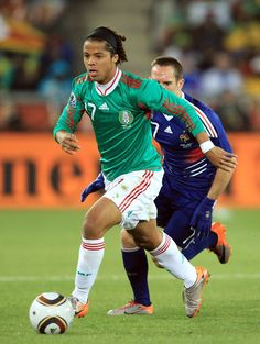 Giovani Dos Santos Photos - France v Mexico: Group A - 2010 FIFA World Cup - Zimbio