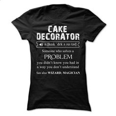 Cake Decorator Shirt - #black shirts #online tshirt design. MORE INFO => https://www.sunfrog.com/LifeStyle/Cake-Decorator-Shirt-Ladies.html?60505