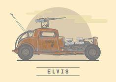 Elvis - Mad Max: Fury Road - Stuart Shaw