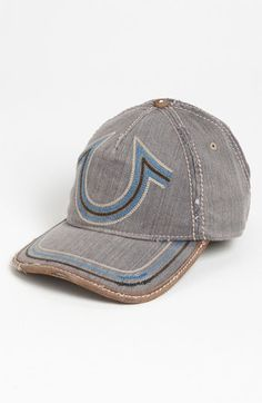99d5e1a0d95 True Religion Brand Jeans  Horseshoe Stitch  Baseball Cap available at   Nordstrom Jeans Brands