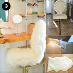 Cadeira com forro