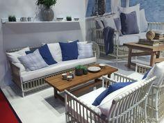 Nautical coffee table decor