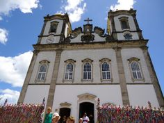 Igreja do Bonfim (Bonfim Church). Salvador, Bahia, Brazil.