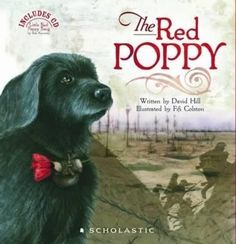 The Red Poppy Narrated by Cohen Holloway Suitable for Kids Published by Scholastic New Zealand Young soldier Jim waits in the trenches for the order to attack. With him are his friends and Nipper, the messenger dog. Book Club Books, Book Lists, Reading Lists, Poppy Book, Remembrance Day, Day Book, World War One, Reading Challenge, Children's Literature