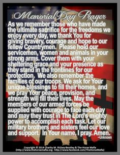 Memorial Day Prayer Memorial Day Prayer, Prayers For Hope, Cool Optical Illusions, Prayer Service, Simple Reminders, Prayer Board, The Freedom, We Remember, Natural Medicine