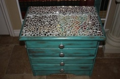 Mirror Mosaic Nightstand <3 by Frivical Fancy by manuela
