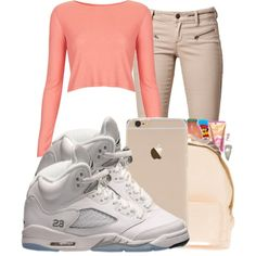 . by ray-royals on Polyvore featuring polyvore, fashion, style, Topshop and SELECTED