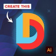 Graphic Design Lessons, Graphic Design Tools, Graphic Design Tutorials, Graphic Design Posters, Graphic Design Typography, Circle Graphic Design, Type Design, Lettering Design, Illustrator Ai