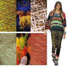 s/s 2013 textile apparel fabric trend board 7