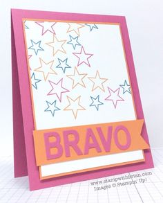So You, Little Letters Thinlits, Stampin' Up!, Brian King, congratulations card