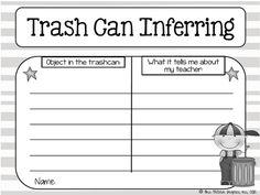 Trash Can Inferring: FREEBIE!