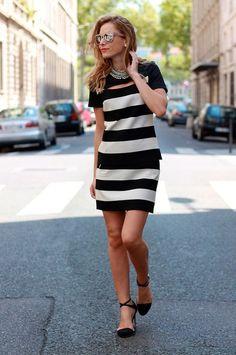 8e32b58af58b Fall 2013 Trend  Black and White Street Style Fashion - Fashion Diva Design