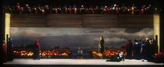 Lohengrin. Seattle Opera. Scenic design by Thomas Lynch. 1994