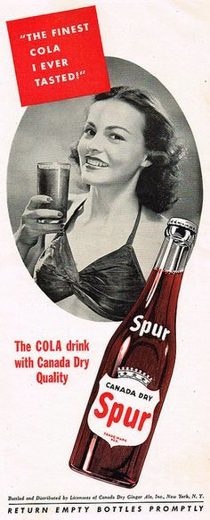 The soda was introduced in 1924 by Chero-Cola which became RC Cola in 1955 and today belongs to the Dr. Pepper/Snapple Group. Description from pinterest.com. I searched for this on bing.com/images