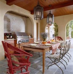 Outdoor Kitchen LOVE