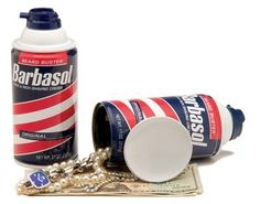 Barbasol Shave Cream Can Safe Your DIVERSION SAFE® looks exactly like a real can of Barbasol Shaving Cream because it was remanufactured from an original container Hiding Spots, Hiding Places, Barbasol Shaving Cream, Cool Gifts, Best Gifts, Diversion Safe, Hidden Safe, Can Safe, Money Jars