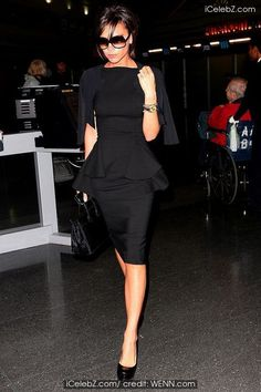 victoria beckham, so chic.