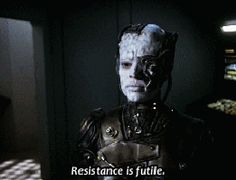 1000 images about resistance is futile on pinterest - We are the borg quote ...