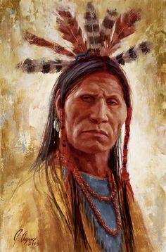Hardened Warrior Lakota - James Ayers
