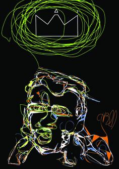 #art #arte #urban #grafika #men #king