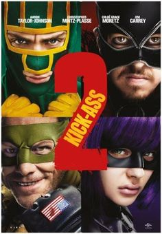 Kickass 2 Movie Poster 24inx36in Poster