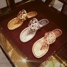 "dabe8b5c9 NorthPark Center on Instagram  ""Which  toryburch Miller sandal will you  choose for spring   toryburch  NPCShoes"""
