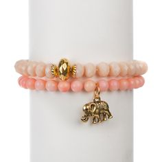 With this pink bracelet, you're helping Chavez for Charity and Dr. Susan Love Research Foundation put an end to breast cancer. http://www.chavezforcharity.com/collections/dr-susan-love-research-foundation-pink/products/salmon-bamboo-set-of-two