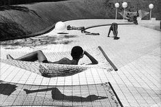 Swimming Pool Designed by Alain Capeilleres, Le Brusc, Var, France 1976